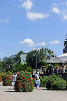 Kurpark in Swieradow Zdroj, Woiwodschaft Niederschlesien (Wojew&oacute;dztwo dolnośląskie), Polen, Europa<br /> Spa Park  in Swieradow Zdroj, Poland, Europe
