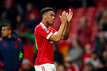 Anthony Martial of Manchester United applauds the fans during the Emirates FA Cup match at Old Trafford. Photo credit should read: Philip Oldham/Sportimage