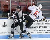 Tim Schaller (Providence - 11), Jamie Oleksiak (Northeastern - 6) - The Northeastern University Huskies defeated the visiting Providence College Friars 5-0 on Saturday, November 20, 2010, at Matthews Arena in Boston, Massachusetts.
