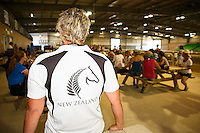 Rider Briefing: Horse Inspection: 2016 NZL-Bates NZ Dressage Championships (Wednesday 3 February) CREDIT: Libby Law COPYRIGHT: LIBBY LAW PHOTOGRAPHY