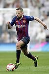 FC Barcelona's Jordi Alba during La Liga match. March 02,2019. (ALTERPHOTOS/Alconada)