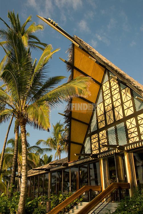 Kona Village dining hall, Hawaii