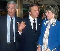 Eugene Cernan Allan Shephard Jean Kennedy Smith 1989<br /> Photo By John Barrett/PHOTOlink.net /MediaPunch