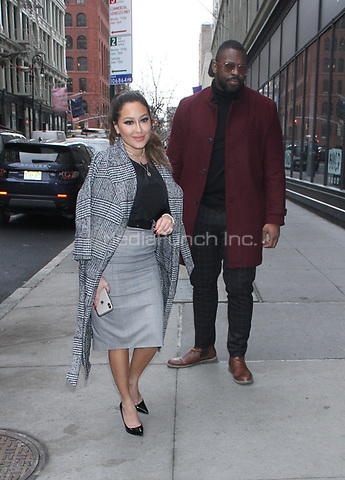 December 14, 2018.   Adrienne Bailon at Build Series to talk about new XIXI Jewelry Line in New York. December 14, 2018  Credit:RW/MediaPunch