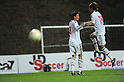 (L-R) Takahiro Ogihara, Takashi Usami (JPN),.MAY 25, 2012 - Football / Soccer :.Takahiro Ogihara of Japan celebrates with his teammate Takashi Usami after scoring their third goal during the 2012 Toulon Tournament Group A match between U-23 Japan 3-2 U-21 Netherlands at Stade de l'Esterel in Saint-Raphael, France. (Photo by FAR EAST PRESS/AFLO)
