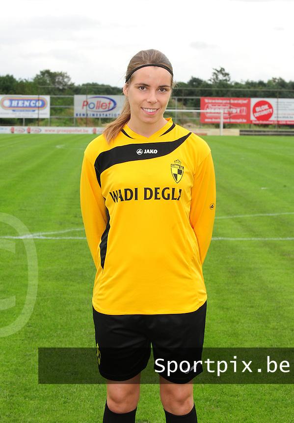 WD Lierse SK : Katarina Morrens.foto JOKE VUYLSTEKE / Vrouwenteam.be / LOFT6.be
