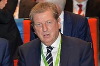 Roy Hodgson <br /> Parigi 12-12-2015 Sorteggio fase finale Euro 2016 campionato Europeo di Calcio per Nazioni Francia 2016 <br /> Foto Anthony BIBARD / Panoramic / Insidefoto