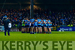 Dublin players before the Allianz Football League Division 1 Round 3 match between Kerry and Dublin at Austin Stack Park in Tralee, Kerry on Saturday night.