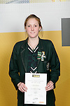 Girls Squash winner Lana Harrison. ASB College Sport Young Sportperson of the Year Awards 2007 held at Eden Park on November 15th, 2007.