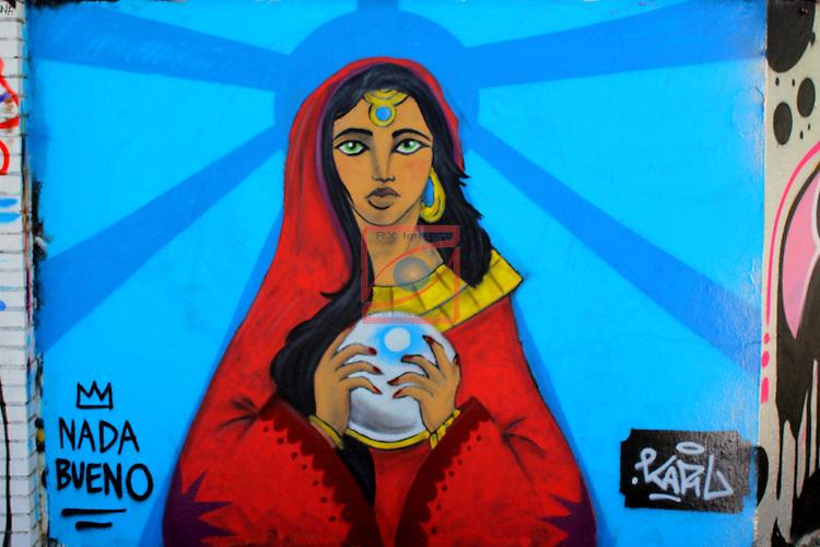 Street Art-Graffittis.<br /> Carrer de Josep Pla.<br /> Barcelona-Poblenou (Sant Marti).