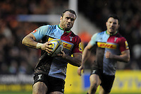 Jamie Roberts of Harlequins in action during the Premiership Rugby match between Harlequins and Saracens - 09/01/2016 - Twickenham Stoop, London<br /> Mandatory Credit: Rob Munro/Stewart Communications