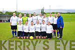 Inter Kenmare Team  in the Denny Ladies Challenge Cup Final Inter Kenmare v Listowel Celtic at Mounthawk Park on Sunday