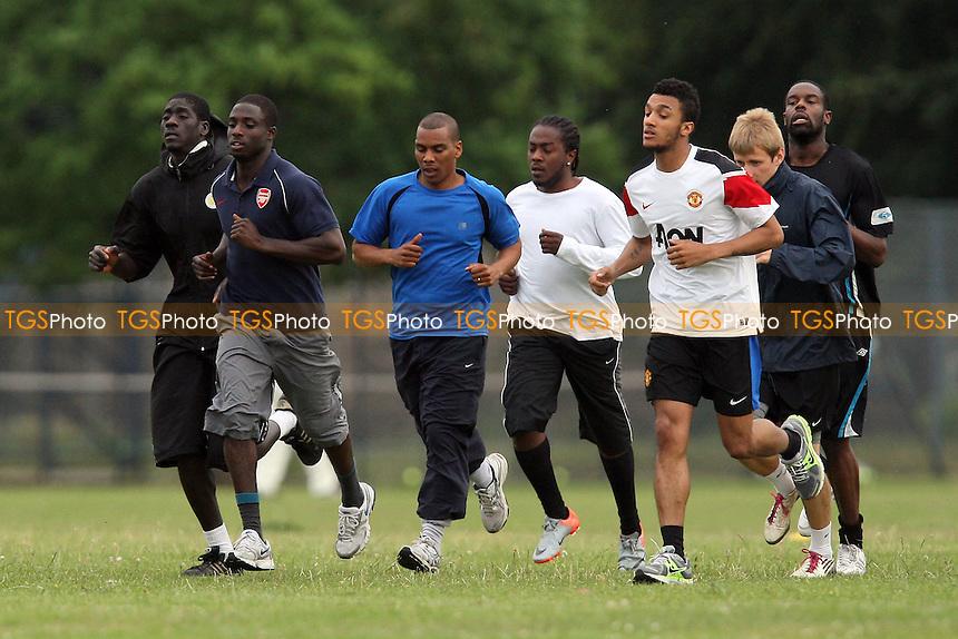 Bethnal Green United FC Pre-Season Training at Victoria Park, London - 12/07/11 - MANDATORY CREDIT: Gavin Ellis/TGSPHOTO - Self billing applies where appropriate - Tel: 0845 094 6026 - contact@tgsphoto.co.uk