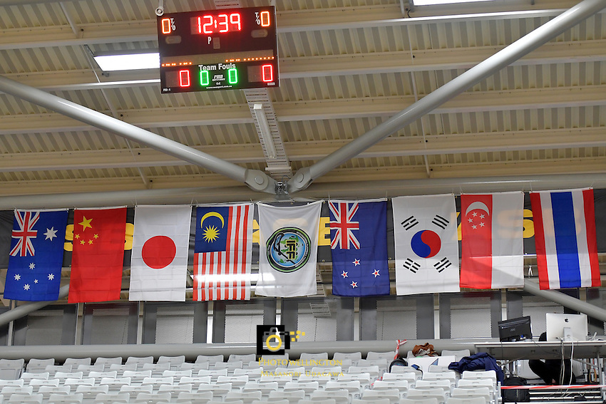 World Floorball Championships 2017 Qualification for Asia-Oceania Region - Japan v Malaysia at ASB Sports Centre , Wellington, New Zealand on Tuesday 31 January 2017.<br /> Photo by Masanori Udagawa<br /> www.photowellington.photoshelter.com.