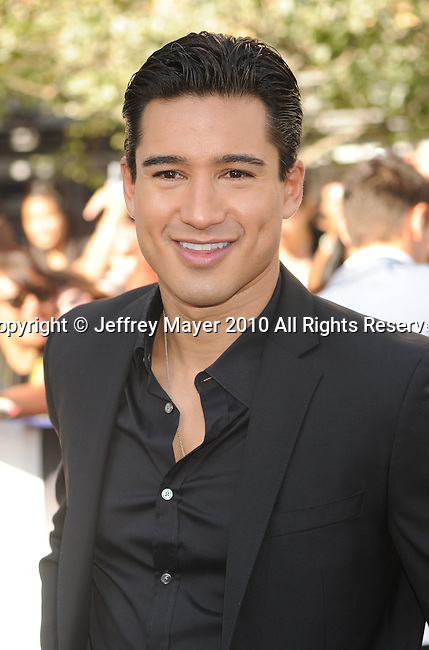 "LOS ANGELES, CA. - June 24: Mario Lopez arrives to the premiere of ""The Twilight Saga: Eclipse"" during the 2010 Los Angeles Film Festival at Nokia Theatre L.A. Live on June 24, 2010 in Los Angeles, California."