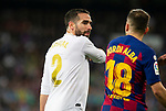 Real Madrid CF's Dani Carvajal reacts during La Liga match. Mar 01, 2020. (ALTERPHOTOS/Manu R.B.)