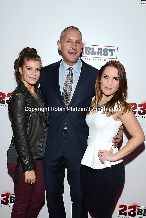 Kelley Missal, Gary Donatelli and Kristen Alderson  attend the &quot;23 Blast&quot;  Movie Premiere  on October 20, 2014 at The Regal Cinemas E-Walk Theater in New York City. <br /> <br /> photo by Robin Platzer/Twin Images<br />  <br /> phone number 212-935-0770