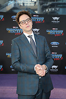 """19 April 2017 - Hollywood, California - James Gunn. Premiere Of Disney And Marvel's """"Guardians Of The Galaxy Vol. 2"""" held at Dolby Theatre. Photo Credit: PMA/AdMedia"""