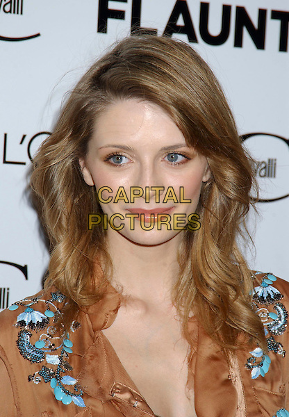 """MISCHA BARTON .During """"Just Cavalli"""" Flaunt Magazine's 6 Year Anniversary Party and Holiday Toy Drive to benefit Para Los Ninos held at a private residence in Los Angeles, California, USA, December 10th 2004..portrait headshot.Ref: ADM.www.capitalpictures.com.sales@capitalpictures.com.©Laura Farr/AdMedia/Capital Pictures ."""