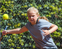 Hilversum, Netherlands, August 7, 2017, National Junior Championships, NJK, Britt du Pree<br /> Photo: Tennisimages/Henk Koster