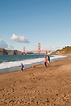 Baker Beach, Golden Gate Bridge, San Francisco, California, USA.  Photo copyright Lee Foster.  Photo # california108653