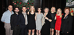 Peter Friedman, Keith Nobbs, Jeremy Strong,Carolyn Cantor, Amy Herzog,  Joyce Van Patten, Sarah Goldberg, Erin Wilhelmi, Becky Ann Baker attending the Opening Night After Party for the Playwrights Horizons World Premiere Production of 'The Great God Pan' at Heartland Brewery in New York City on December 18, 2012