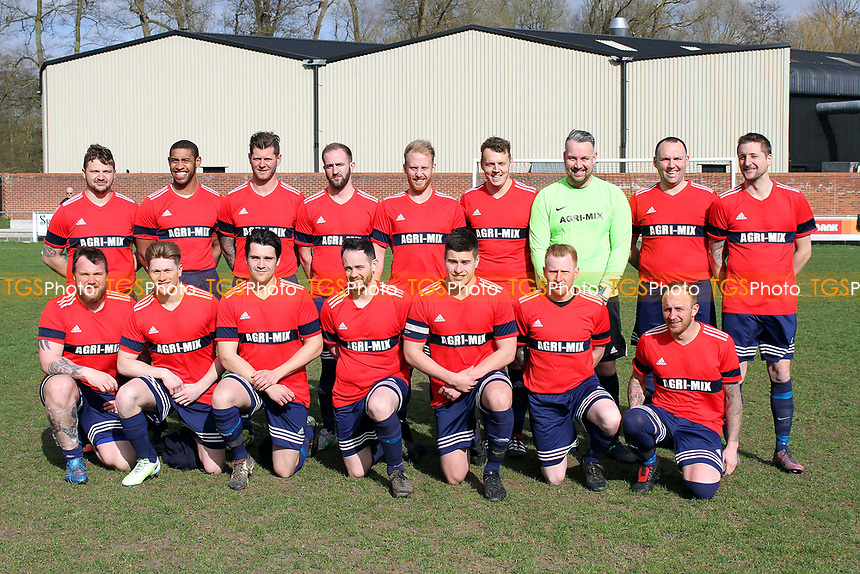 Western Arms vs Dunmow Rhodes, Braintree & North Essex Sunday League Cup Final Football at Rosemary Lane on 19th March 2017