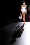 03.09.2012. Models walk the runway in the Guillermina Baeza fashion show during the Mercedes-Benz Fashion Week Madrid Spring/Summer 2013 at Ifema. (Alterphotos/Marta Gonzalez)