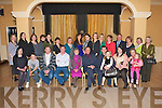 RETIREMENT: Kitty Enright, Alderwood Road, Tralee (seated centre) who retired from the H.S.C. after 20 years celebrating with family and friends at the Ballygarry hotel on Thursday.