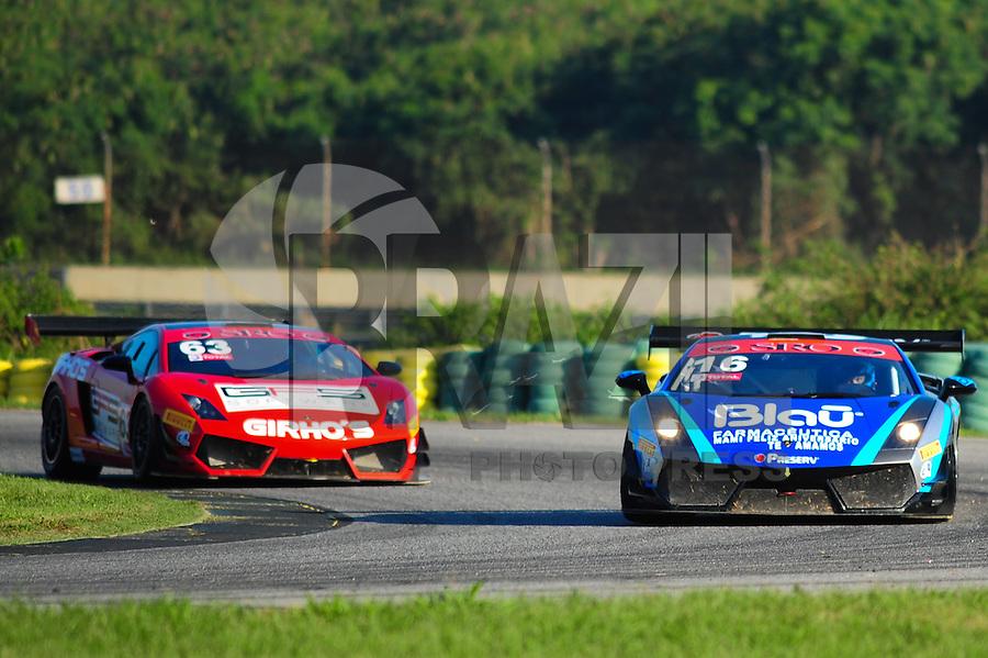 RIO DE JANEIRO, RJ, 21 DE JULHO 2012 - CAMPEONATO BRASILEIRO DE GRAN TURISMO - CORRIDA 1 - 4ª ETAPA - RIO DE JANEIRO - O piloto Allam Khodair #16, durante a corrida 1 da 4ª etapa do Campeonato Brasileiro de Gran Turismo, disputado no Autodromo Internacional Nelson Piquet, Jacarepagua, Rio de Janeiro, neste sábado, 21. FOTO BRUNO TURANO  BRAZIL PHOTO PRESS