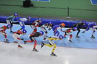SCHAATSEN: GRONINGEN: Sportcentrum Kardinge, 18-01-2015, KPN NK Mass Start, ©foto Martin de Jong
