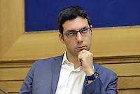 Roma, 5 Agosto 2015<br /> Francesco D'Uva.<br /> Camera dei Deputati.<br /> La commissione antimafia presenta alla stampa la relazione sui giornalisti minacciati