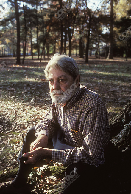 Shelby FOOTE, Civil War historian. Memphis, Tennessee, November 1990.