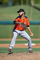 San Francisco Giants pitcher Cameron Avila-Leeper (62) during an Instructional League game against the Chicago White Sox on October 10, 2016 at the Camelback Ranch Complex in Glendale, Arizona.  (Mike Janes/Four Seam Images)