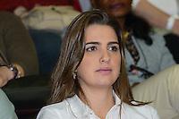 RIO DE JANEIRO, RJ, 28 JULHO 2012 - JMJ2013-PREPARAI O CAMINHO- Clarissa Garotinho no evento Preparai o Caminho,no maracanazinho, inicio da preparacao para a Jornada Mundial da Juventude-JMJ2013,no Rio de Janeiro, neste sabado dia 28, maracana, zona norte do rio.(FOTO: MARCELO FONSECA / BRAZIL PHOTO PRESS).