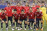 15 July 2007: Chile starting eleven. Chile's Under-20 Men's National Team defeated Nigeria's Under-20 Men's National Team 4-0 after extra time in a  quarterfinal match at Olympic Stadium in Montreal, Quebec, Canada during the FIFA U-20 World Cup Canada 2007 tournament.