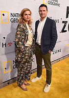 "BEVERLY HILLS - MAY 9: Marina Van Zeller and Darren Foster attend the L.A. premiere of National Geographic's 3-Night Limited Series ""The Hot Zone"" at the Samuel Goldwyn Theater on May 9, 2019 in Beverly Hills, California. The Hot Zone premieres Monday, May 27, 9/8c. (Photo by Frank Micelotta/National Geographic/PictureGroup)"