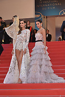 Izabel Goulart, Bruna Marquezine<br /> CANNES, FRANCE - MAY 13: Arrivals at the screening of 'Sink Or Swim (Le Grand Bain)' during the 71st annual Cannes Film Festival at Palais des Festivals on May 13, 2018 in Cannes, France. <br /> CAP/PL<br /> &copy;Phil Loftus/Capital Pictures