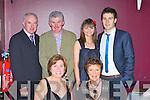 Scartaglen representatives at the East Kerry All Stars in the INEC on Friday night l-r: Joan O'Sullivan, Eileen Reidy. Back row: Dan Reidy, Pat O'Sullivan, Julie O'Connor and Padraig Reidy