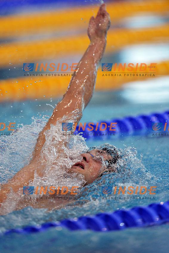 Sebastiano Ranfagni Italy men'100m Backstroke.Debrecen 25/5/2012 .31st European Swimming Championships - Nuoto.Foto Insidefoto / Andrea Staccioli