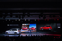 NEW YORK, NY - APRIL 12: The 2018 Mike Manley, President and CEO of Jeep, introduce the new 2018 Jeep Cherokee Trackhawk at the New York International Auto Show, at the Jacob K. Javits Convention Center on April 12, 2017 in Manhattan, New York. Photo by VIEWpress/Eduardo MunozAlvarez