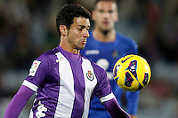 Real Valladolid's Javi Guerra during La Liga match.November 18,2012. (ALTERPHOTOS/Acero)