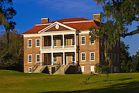 Plantation house, Drayton Hall plantation, Charleston, South Carolina