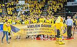 09.06.2019, EWE Arena, Oldenburg, GER, easy Credit-BBL, Playoffs, HF Spiel 3, EWE Baskets Oldenburg vs ALBA Berlin, im Bild<br /> vielen Dank<br /> Marko BACAK (EWE Baskets Oldenburg #13 ) Karsten TADDA (EWE Baskets Oldenburg #9 ) Viojdan STOJANOVSKI (EWE Baskets Oldenburg #19 ) Haris HUJIC (EWE Baskets Oldenburg #5 ) Marcel KESSEN (EWE Baskets Oldenburg #15 ) Jacob HOLLATZ (EWE Baskets Oldenburg #11 ) Philipp SCHWETHELM (EWE Baskets Olldenburg #33 )<br /> Foto © nordphoto / Rojahn