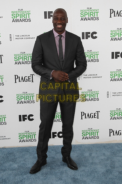 SANTA MONICA, CA - MARCH 1: Adewale Akinnuoye-Agbaje attending the 2014 Film Independent Spirit Awards in Santa Monica, California on March 1st, 2014. Photo Credit: RTNUPA/MediaPunch<br /> CAP/MPI/RTNUPA<br /> &copy;RTNUPA/MediaPunch/Capital Pictures