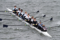 Crew: 161  Eton Coll  Event: School J16 2nd eights<br /> <br /> Schools' Head of the River 2017<br /> <br /> To purchase this photo, or to see pricing information for Prints and Downloads, click the blue 'Add to Cart' button at the top-right of the page.