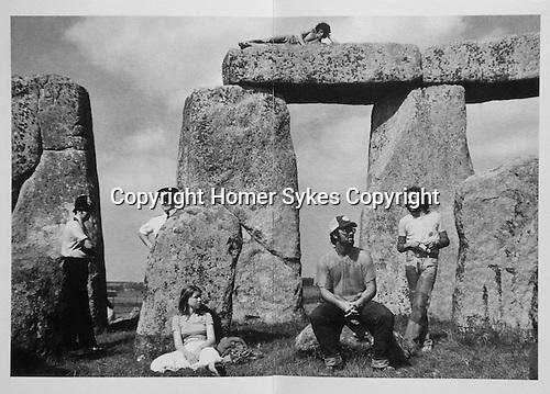 Stonehenge:1970 Counterculture.