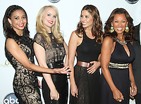 NEW YORK, NY - SEPTEMBER 24: Samantha Logan, Helena Mattsson, Mercedes Masohn and Vanessa Williams attend the premiere screening  of  ABC TV series  666 Park Avenue at the Crosby Street Hotel in New York City. © RW/MediaPunch Inc.