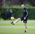 01.08.2018 Rangers training: Gary McAllister