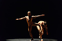 "Acosta Danza, the new dance company founded by Cuban dancer, Carlos Acosta, receives its UK premiere at Sadler's Wells. The piece shown is: ""El cruce sobre el Niagara"", choreographed by Marianela Boan. Picture shows: Carlos Luis Blanco, Alejandro Silva."